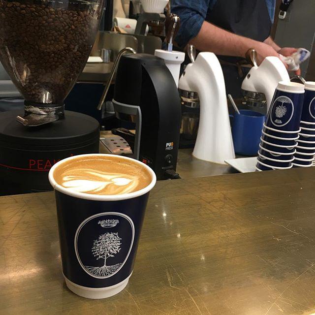 Nobletree Coffee #coffeelovernyc #coffeenyc #cafenyc #coffee #downtown #tribeca