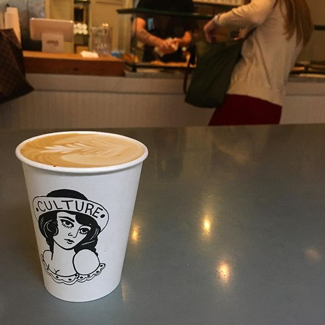 Culture Espresso at Midtown #coffeelovernyc #coffeenyc #cafenyc #midtown #coffeecup