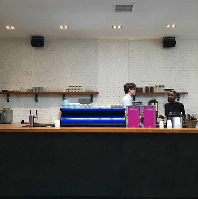 Supercrown Coffee Roasters in Bushwick